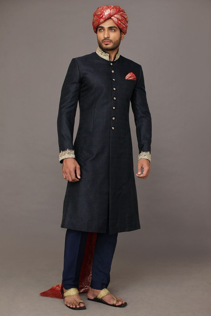 Pakistani Sherwani Designs for Dulha