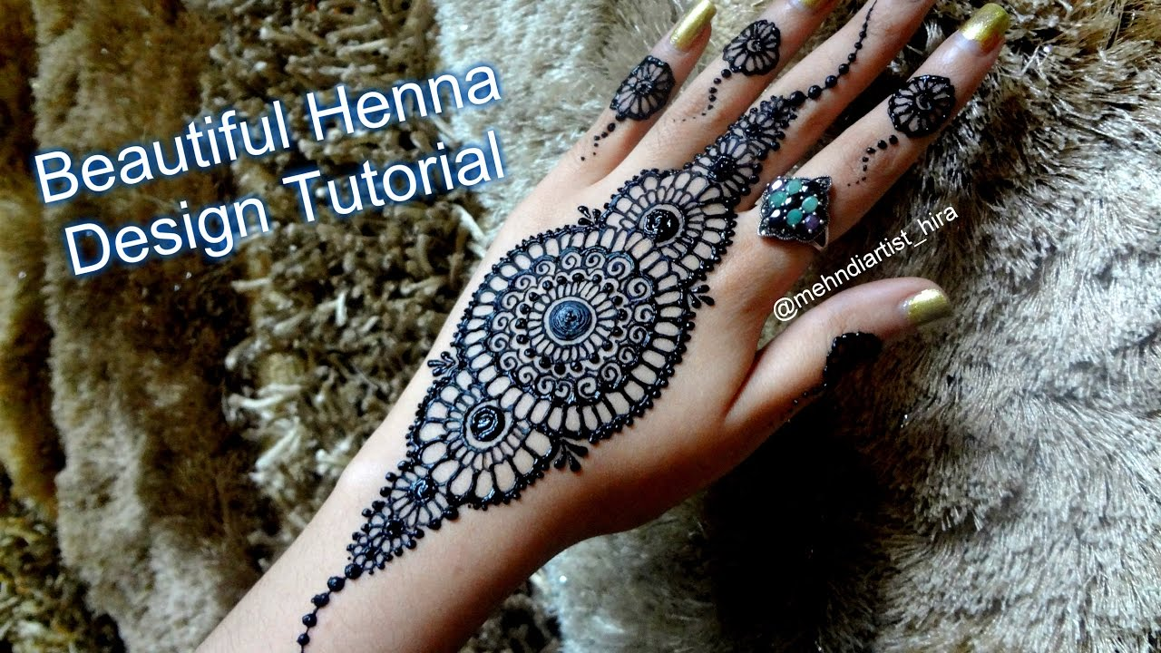 Arabic Mehndi Flower : 42 new arabic mehndi designs for every occasion 10 fashionglint
