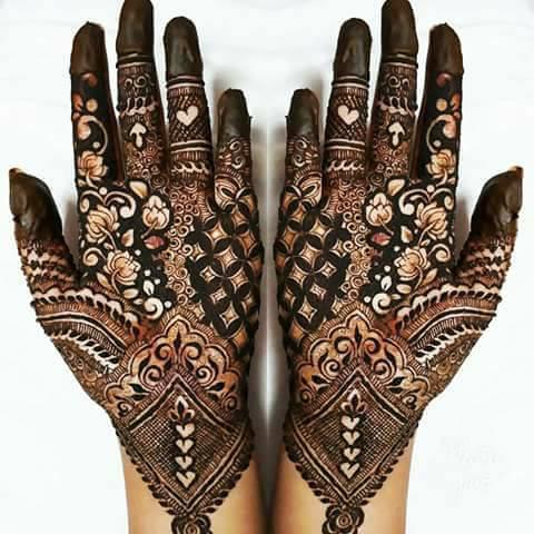 Bridal Arabic Mehndi Designs
