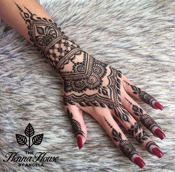Arabic Mehndi Designs New Style for Eid