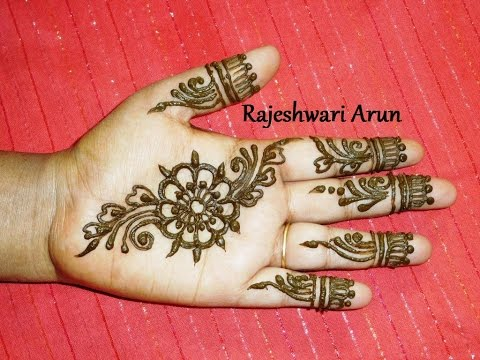 Easy Mehndi Patterns On Paper : New arabic mehndi designs for every occasion fashionglint