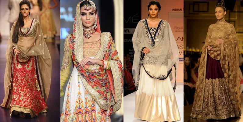 Chic Dupatta Draping Styles for lehnga and shalwar kameez