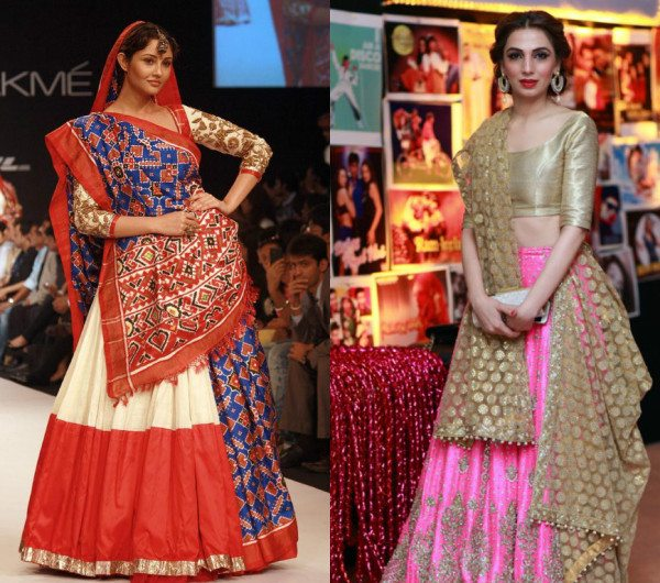 Chic Dupatta Draping Styles for lehnga and shalwar kameez