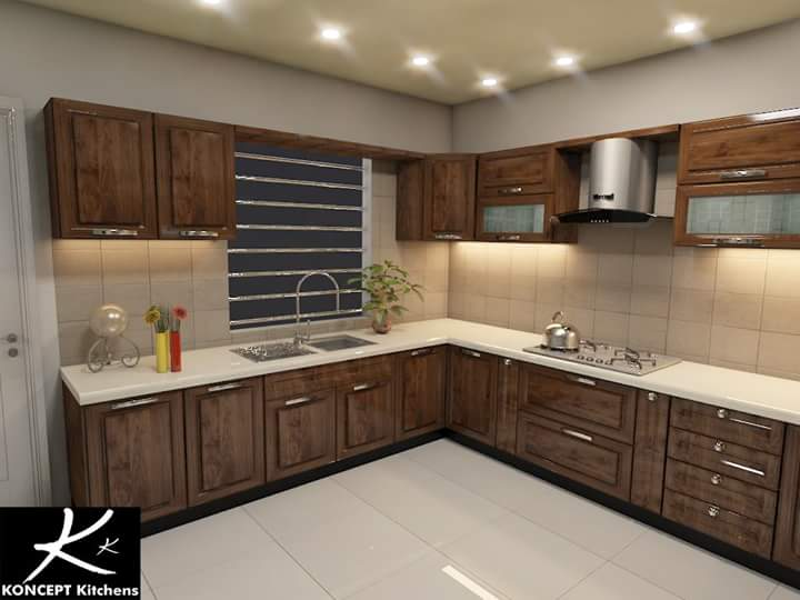 Kitchen Design In Pakistan 2018