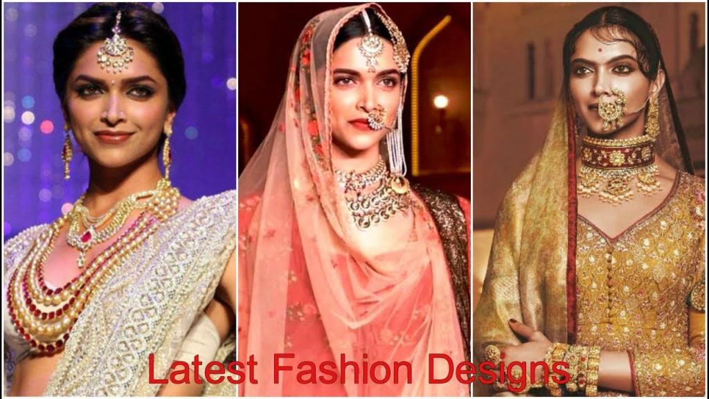 Pakistani Jewelry Designs for Bridal Photos Deepika Padukon Inspired Trends