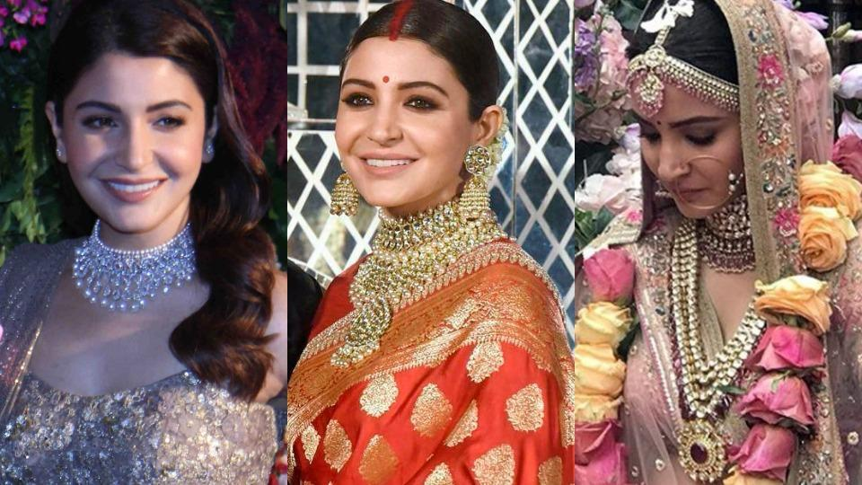 Pakistani Jewelry Designs for Bridal Inspired by Anushka Sharma Wedding