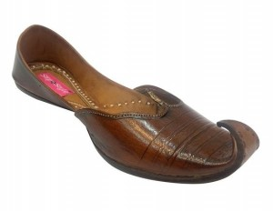 Brown Mens leather Khussa Shoes For Every Occasion