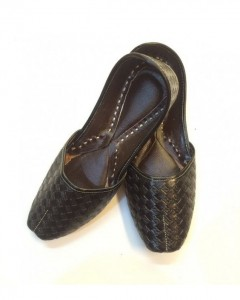 Black Mens leather Khussa Shoes For Every Occasion