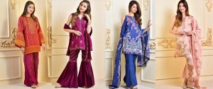 Stylish Lawn Dresses Stitching Designs In Pakistan