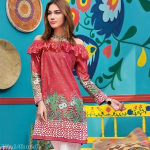 Lawn Dresses Stitching Designs Pakistani for Neckline