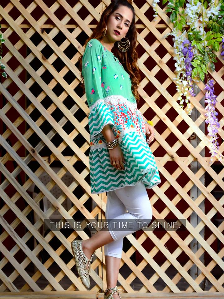 Lawn Dresses Stitching Designs Pakistani for Shirts