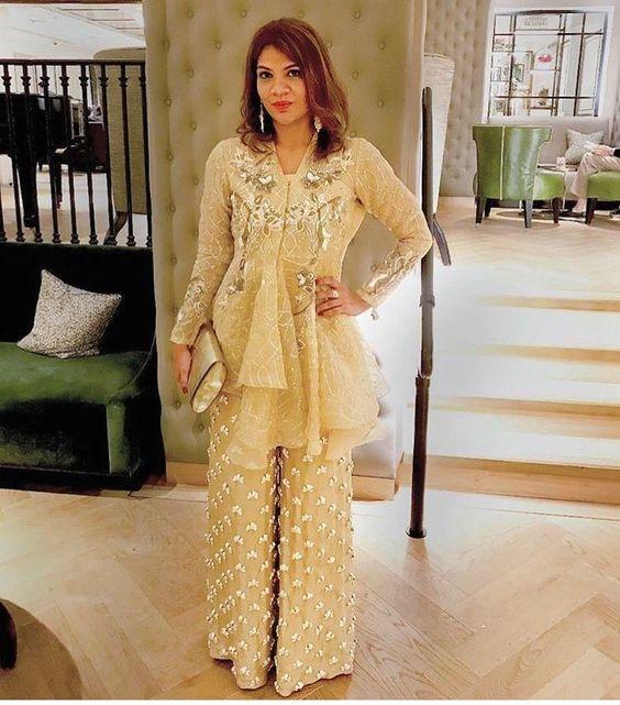 Wide Length Trouser Designs 2018 In Pakistan