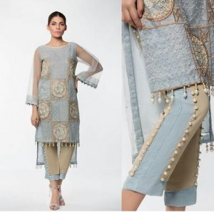 Straight Trouser Designs 2019 In Pakistan