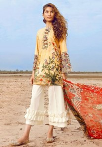 Wide Length Trouser Designs 2019 In Pakistan