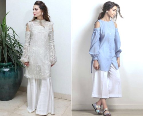 New Peek a Boo Sleeves Designs In Pakistan To Try This Year