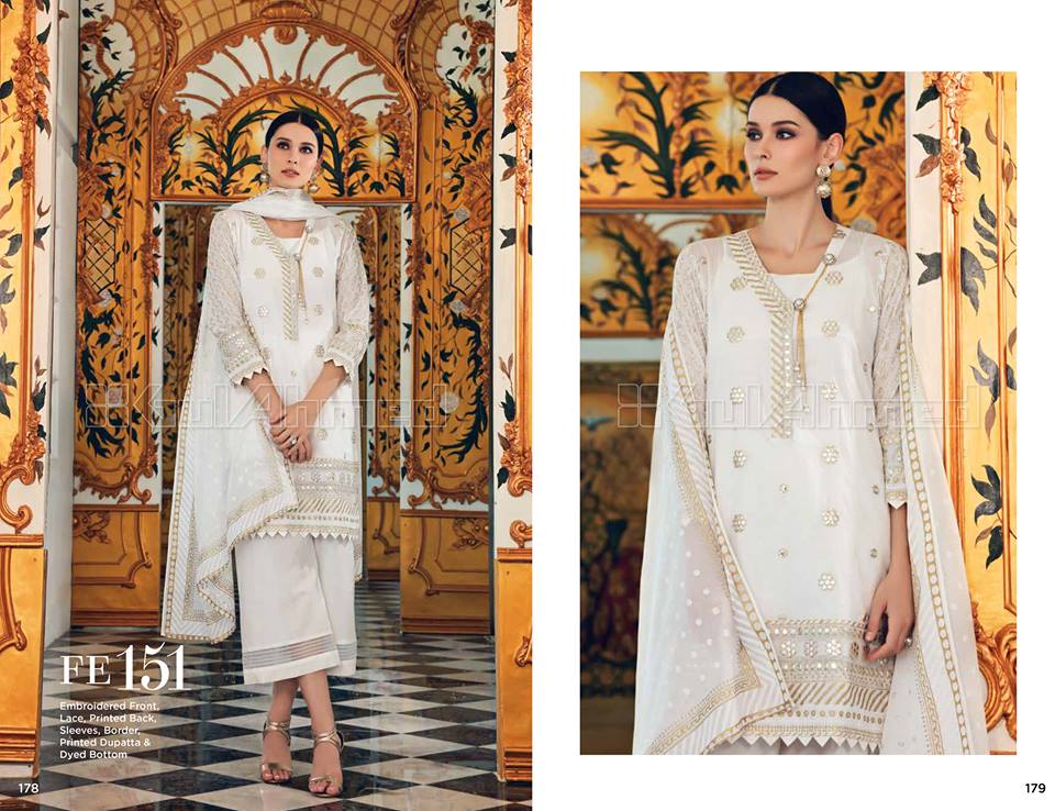 Pakistani Eid Dresses 2018 for Girls