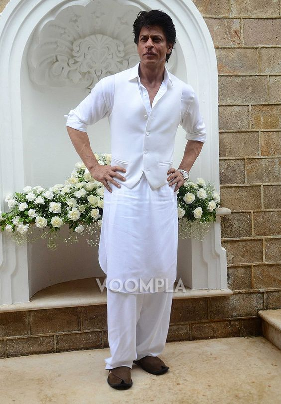 Shahrukh Khan In Pathani Suit for Wedding