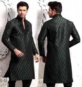 Black Pathani Suits for Wedding