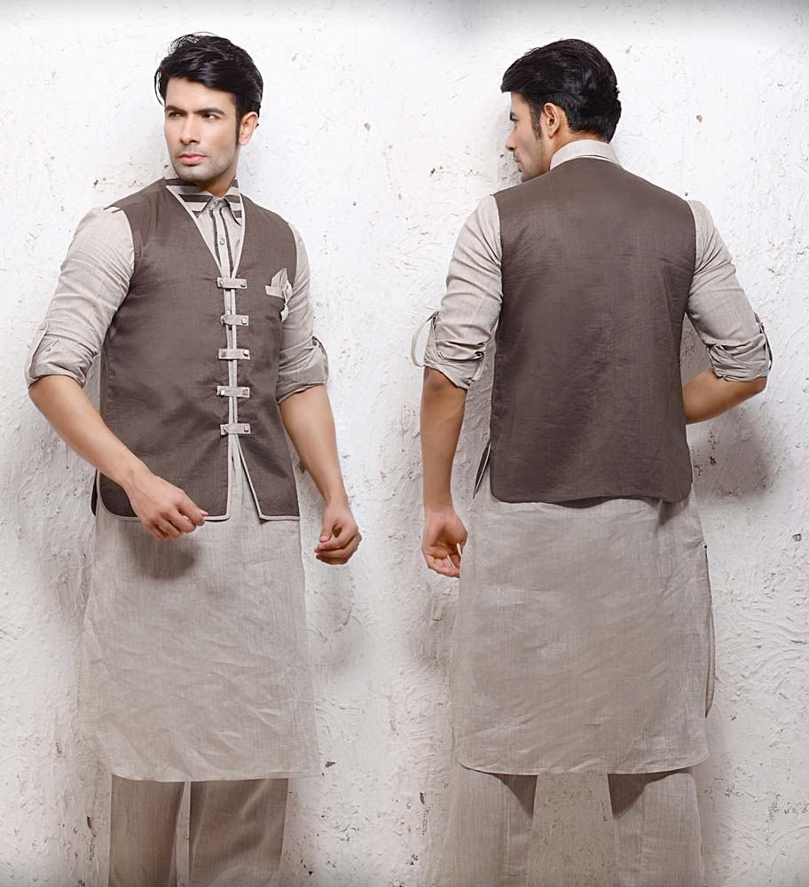 Pathani Suits with Waistcoat