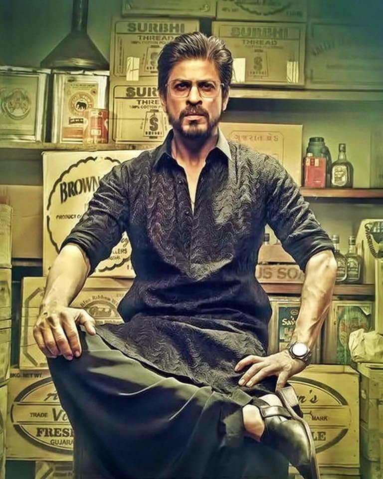 Shahrukh Khan in Pathani Suit for Raees Movie