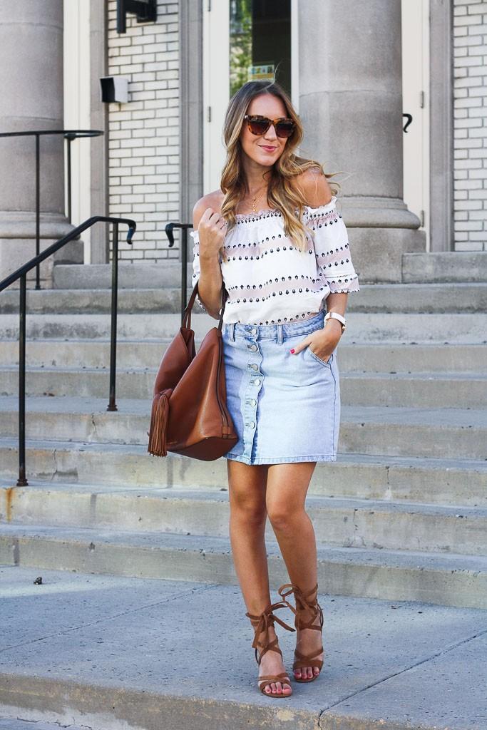 Stylish Tops Designs for Skirt