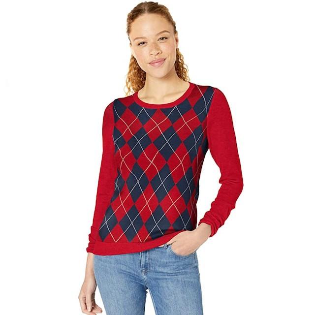 Amazon Essentials Argyle Sweater
