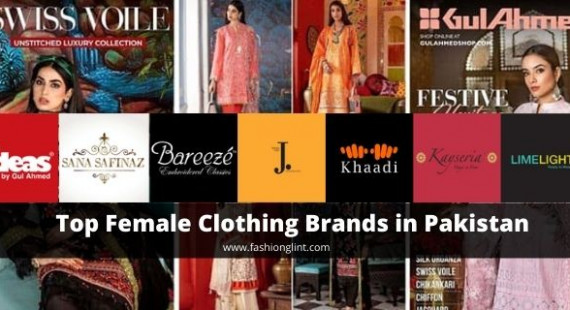 Top ladies clothing brands in Pakistan